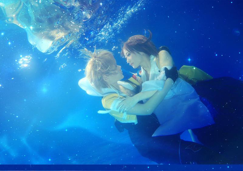 Final fantasy x tidus with yuna cosplay by rubensbuer on - Yuna wallpaper ...
