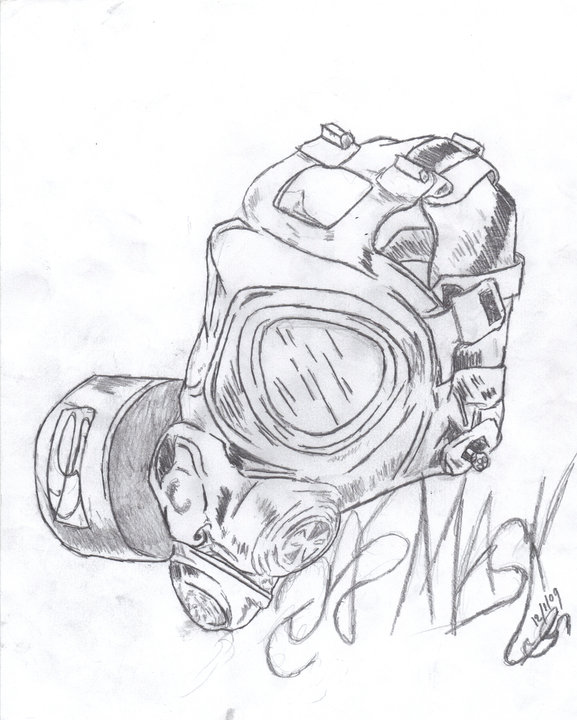 Gas Masks Drawing Cool Gas Mask Drawings Gas