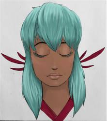 Yukina Painted by Nyx-moon