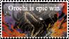 Orochi stamp by Bio-Electric-Anemone