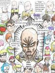 Saitama's Secret - One Punch Man Meet Other Heroes