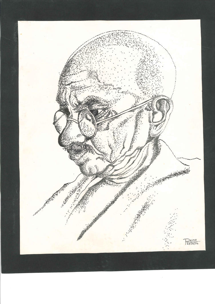 Gandhi by vprima14