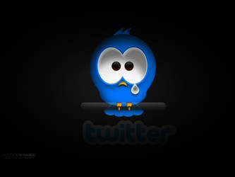 Twitter wallpaper by M-MooG