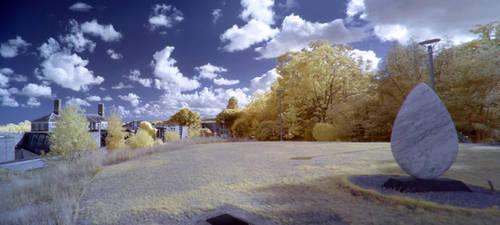 Exeter University in infrared: 17 by yaschaeffer