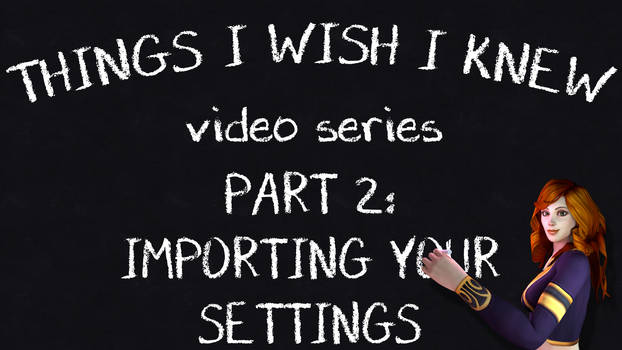 Things I Wish I Knew Video Series: Part 2