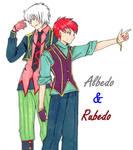 Albedo and Rubedo