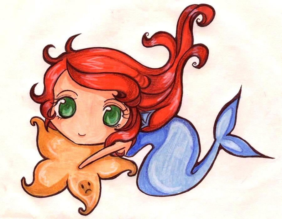 Chibi Mermaid By Zulyamata On DeviantArt