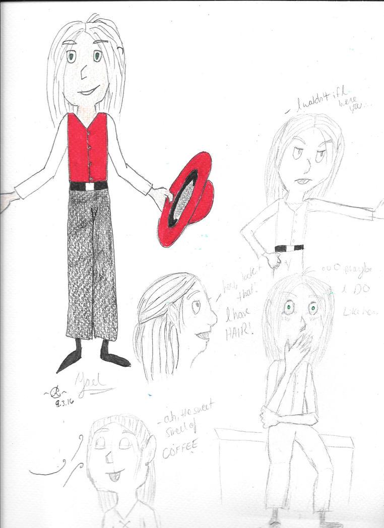 Yael Character Study by AlyClark0430