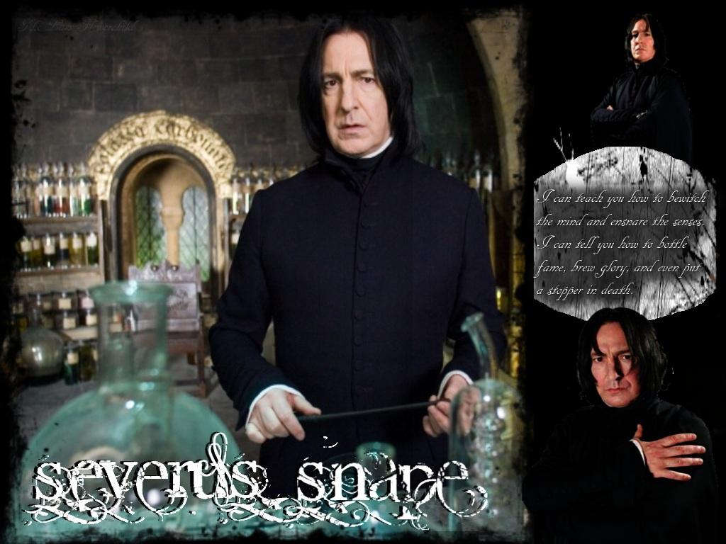 Severus Snape Wallpaper By Thelastflowerchild On Deviantart