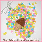 Chocolate Cone Necklace