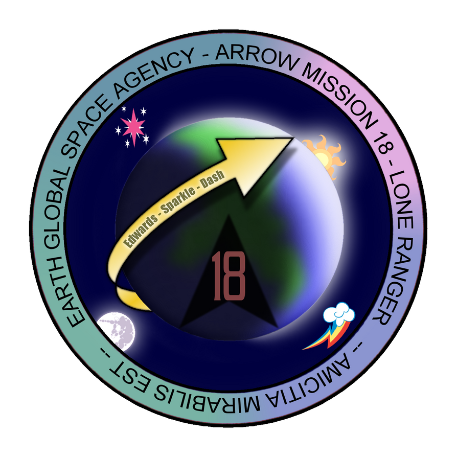 Arrow 18 Mission Patch by AdmiralTigerclaw