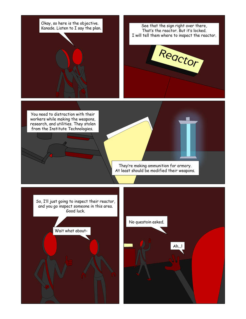 Redman Vs The Evil Technology Pilot Page 21 By Endo1357