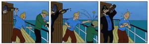 Clips from Tintin movie