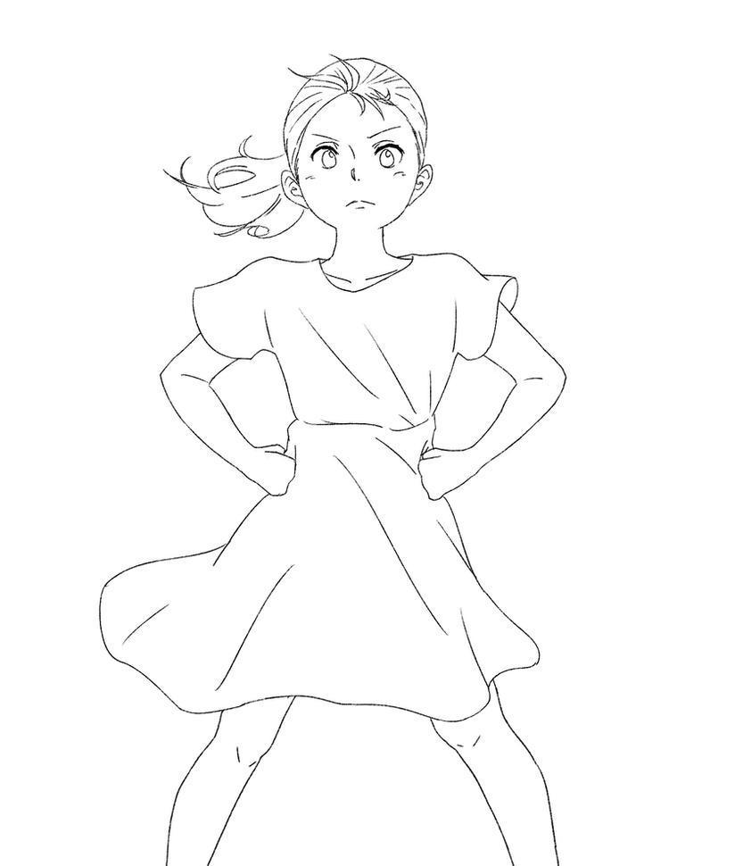 Fearless Girl by Keinoji