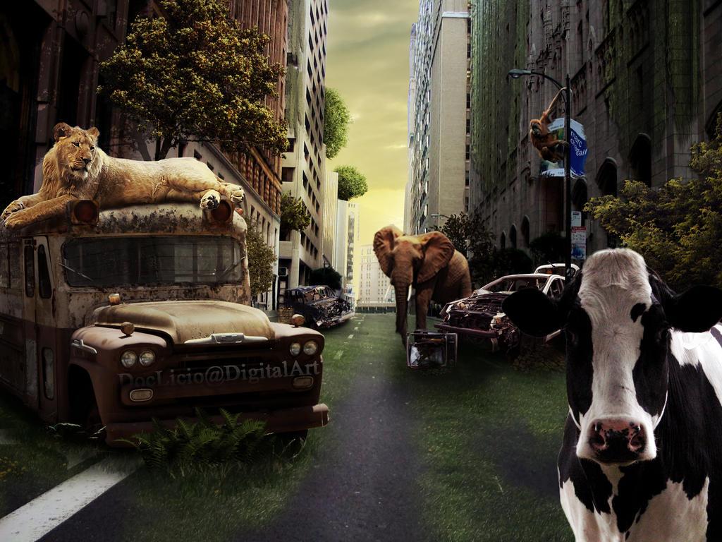 Wild city by doclicio
