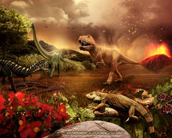 Prehistoric world by doclicio