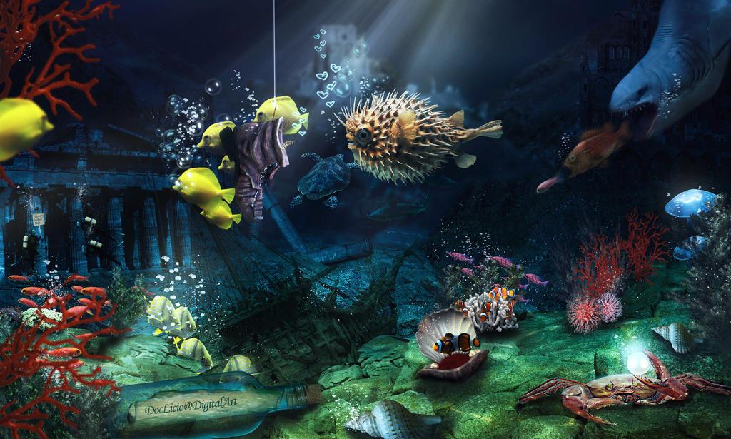 Life under the sea by doclicio