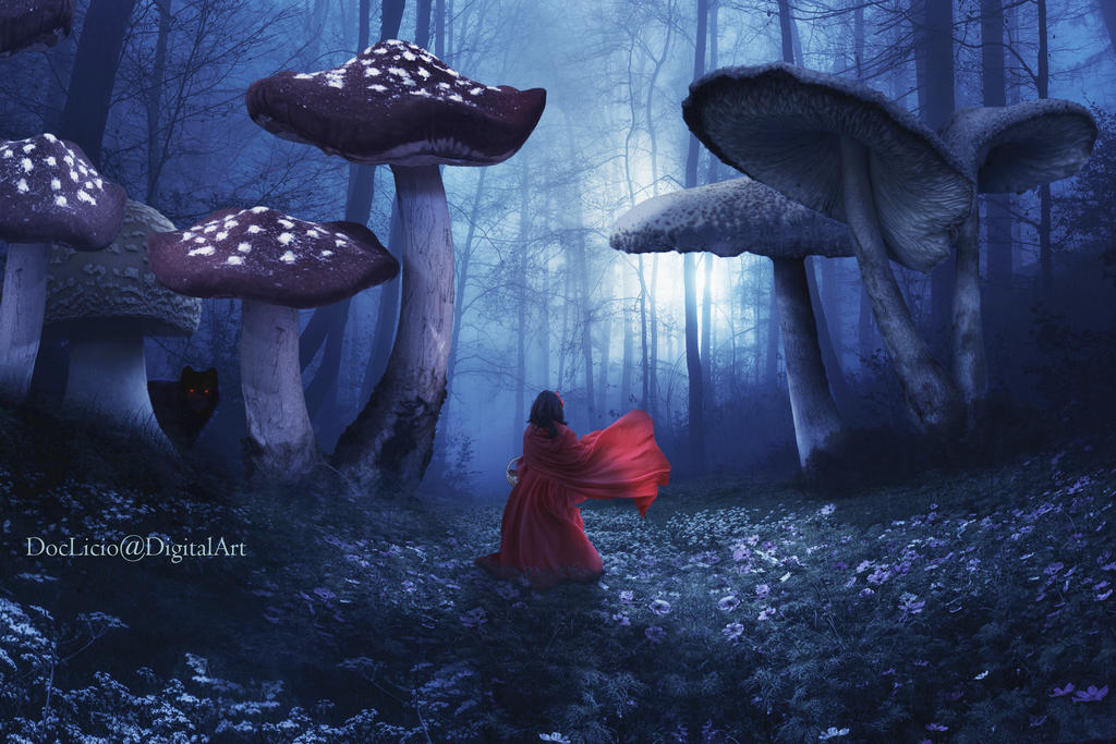 Little Red Riding Hood by doclicio