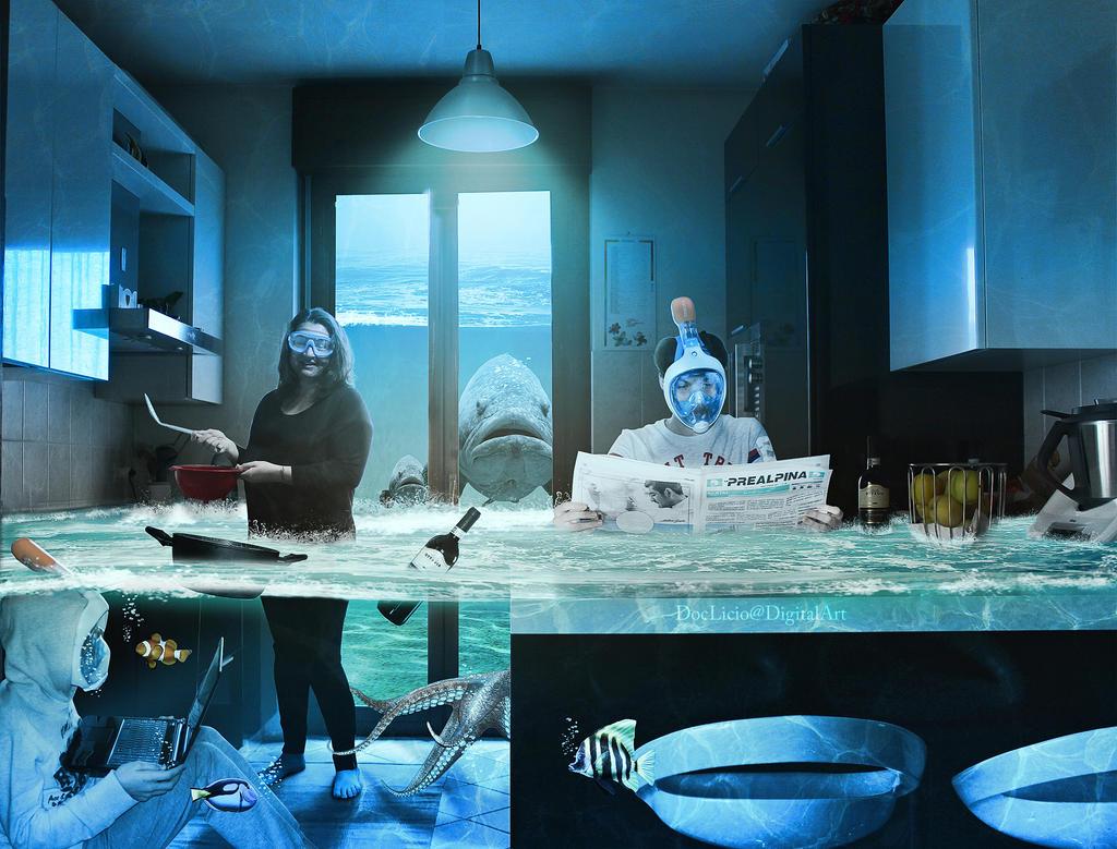 Underwater house by doclicio