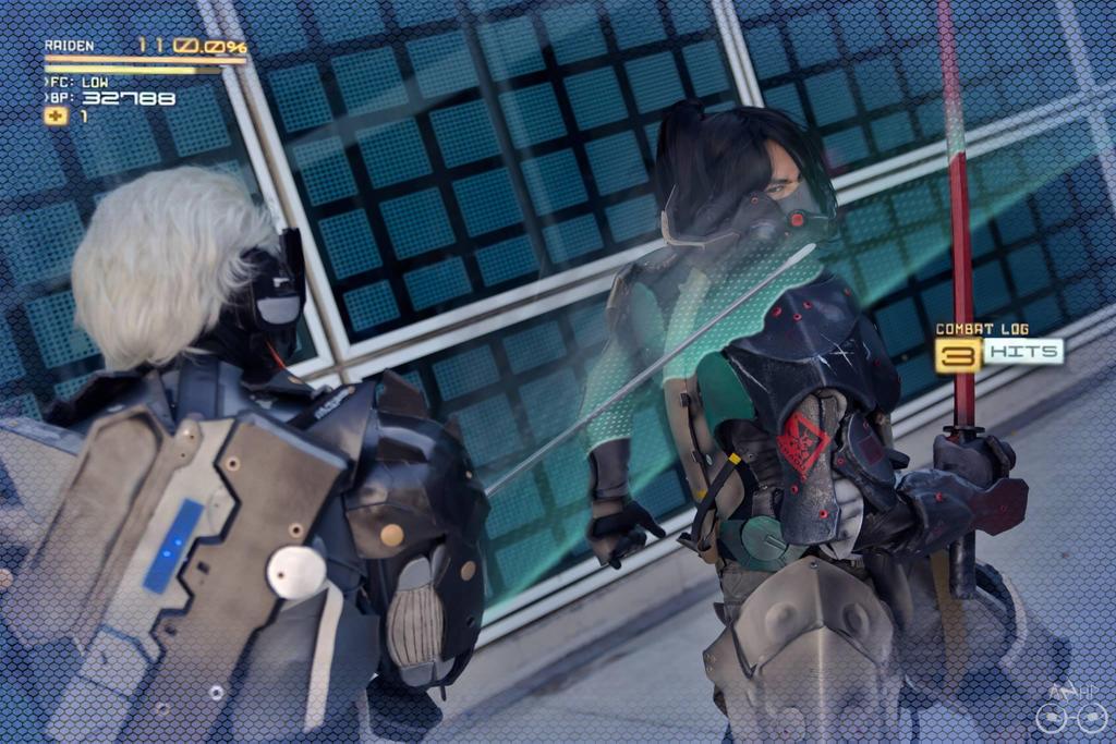 Blade Mode Raiden Vs. Jetstream! by El-Fett