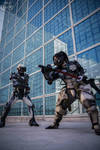 Raiden VS. Jestream Sam by AzHP Photography
