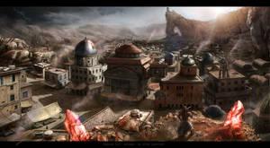 Naousa city concept