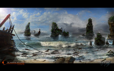 Beach Lookaround part II by Victor-Lam-art