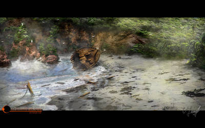 Beach Lookaround part III by Victor-Lam-art