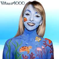 Sealife - Bodypaint by Vitani4000