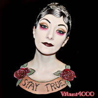 I have become a Tattoo - Bodypaint by Vitani4000