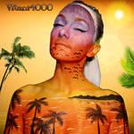 Sunset - Bodypaint by Vitani4000