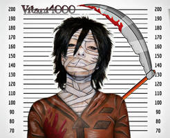 Zack - Angels of death // Body paint by Vitani4000