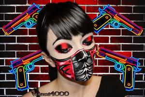 Villain - Face Paint by Vitani4000