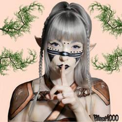 Shh, don't tell anyone I'm an elf by Vitani4000