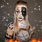Shield maiden Body Paint (Clothes painted on)