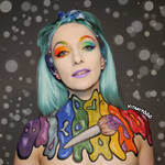 Colour splash - Body paint
