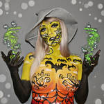 Halloween Witch 2 - Body paint by Vitani4000