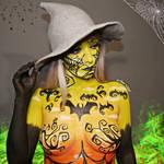 Happy spooky season 2020 - Body paint