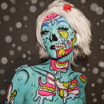 Pop Art Zombie - Bodypaint by Vitani4000