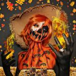 Pumpkin Scarecrow - Bodypaint