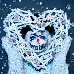 Evil Snowman loves you - Bodypaint