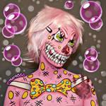 Mr Blobby - Bodypaint