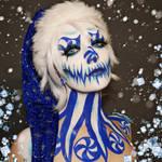 Blue Peppermint Queen - Bodypaint by Vitani4000