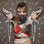 Assassin OC 5 - Bodypaint/Cosplay