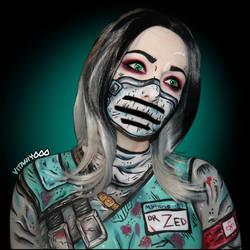 Dr.Zed Borderlands - Body paint