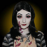 Alice Madness Returns - London dress - Body paint