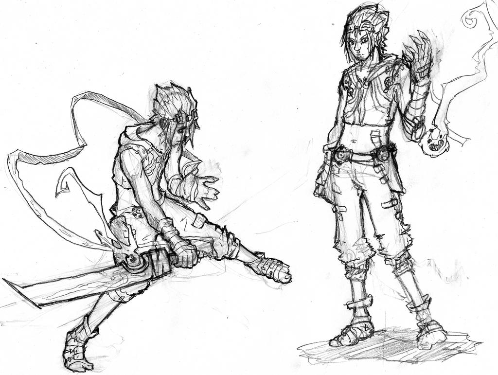 Single Line Character Art : Kira character design line art by sole jo on deviantart
