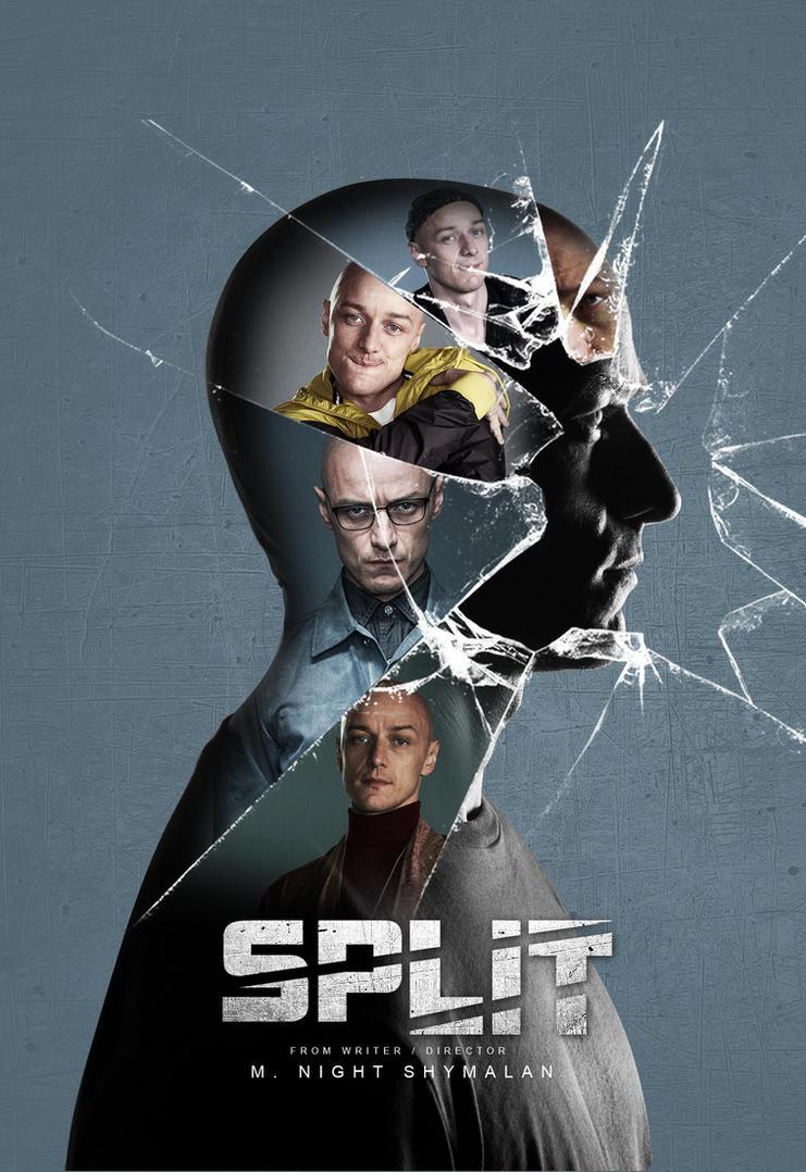 split poster design by HOSSAMH