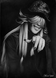 Kuroshitsuji : Undertaker by MonaYuki