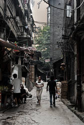 Jaefangbei slum